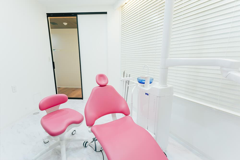 個室診療室でプライベート空間をご用意