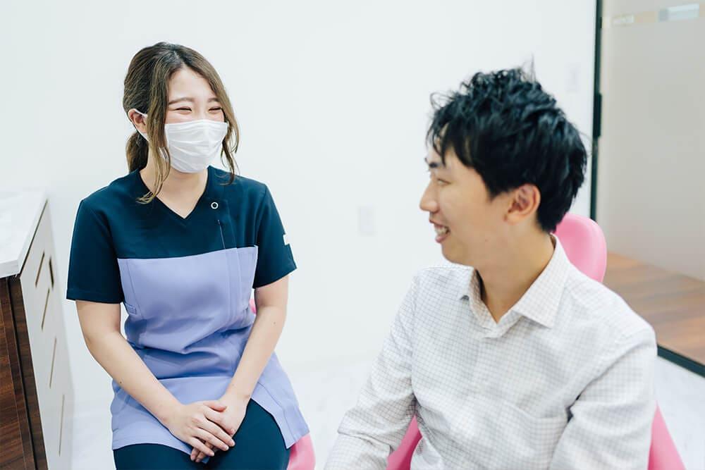 予防のプロ歯科衛生士がケア方法をアドバイスします